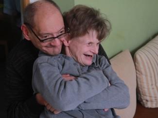 Herr Filipp und Frau Lerch sind gut gelaunt