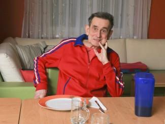 Gerhard Fuchs freut sich aufs Abendessen