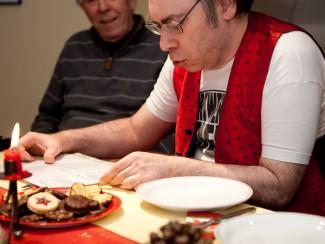 Auch Angehörige und Freunde sind beliebte Gäste bei Feiern im Wohnhaus