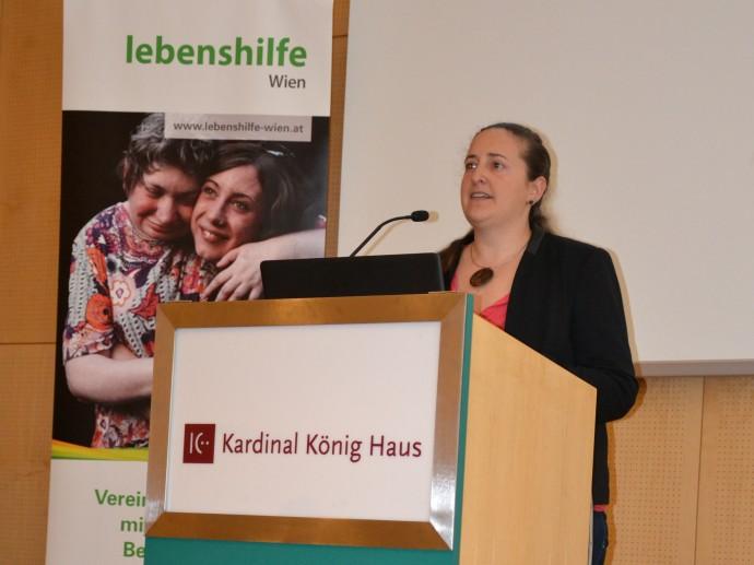 Sabine Mäser vom Verein Füranand aus Vorarlberg