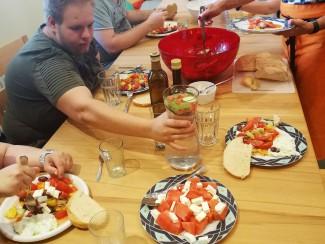 Das Essen haben sich die motivierten HobbyköchInnen verdient!