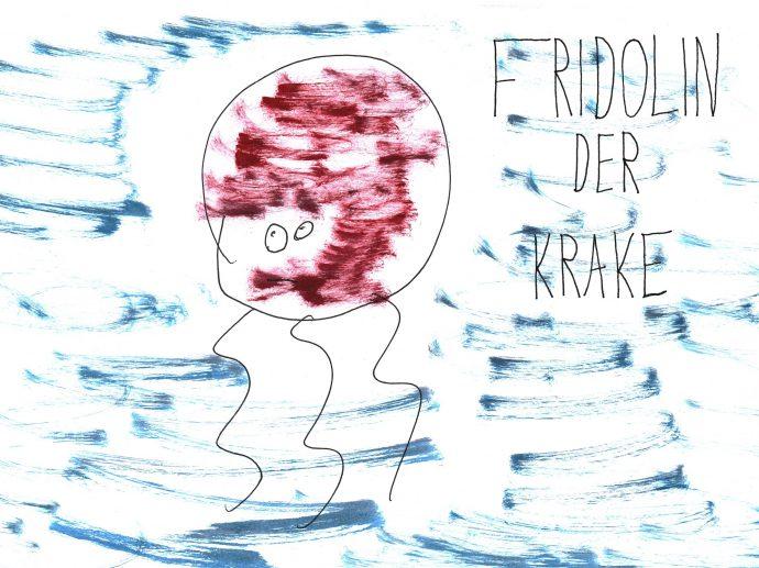 Titelseite Kinderbuch Lebenshilfe Wien - Fridolin der Krake