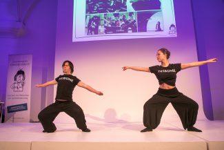 T21 Ensemble sorgten für stimmungsvolle Tanzeinlagen auf der Preisverleihung