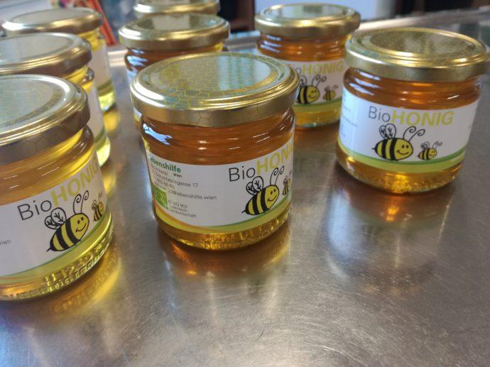 20kg Honig aus der eigenen Bio Imkerei
