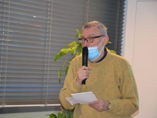 Wolfgang J. Kraus berichtet als Kassier des Vereins